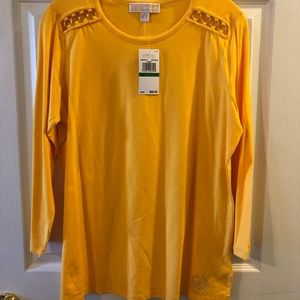 Michael Kors Top - Embellished - L- New w/Tags!